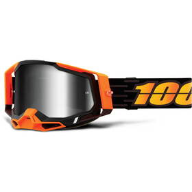 100% Racecraft Occhiali antiappannamento Gen2, arancione
